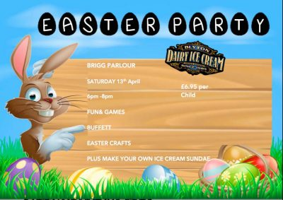 Easter Party – Saturday 13th April